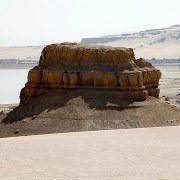 Rock at the southern lake in the Wadi El Rayan - Photo by Roland Unger