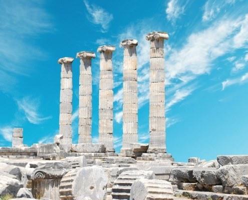 Ruins of Priene, Turkey