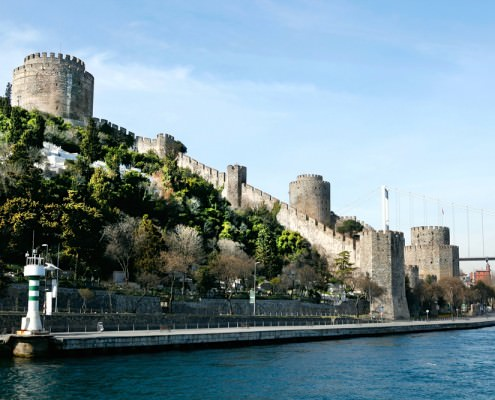 Rumeli Fortress in Istanbul, Turkey