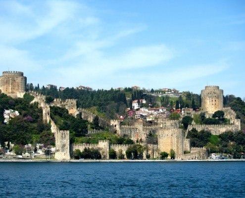 Fort of Rumeli seen from the Bosphorus
