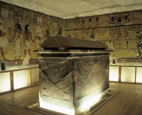 Sarcophagus chamber of Tomb of Ay, KV23