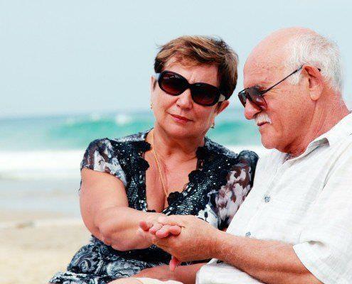 Senior Travelers In Egypt
