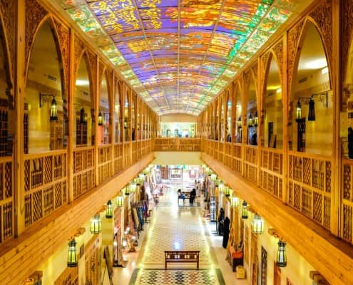 Souks in Dubai - Khan Murjan Souk in Wafi Mall