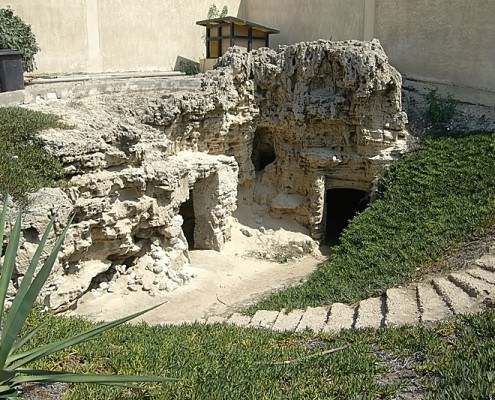 South-east Corner of the Anfushi Tombs, Alexandria