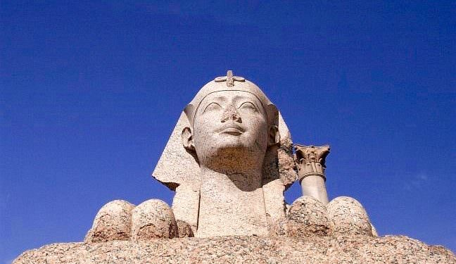 Sphinx at the Pillar of Pompey