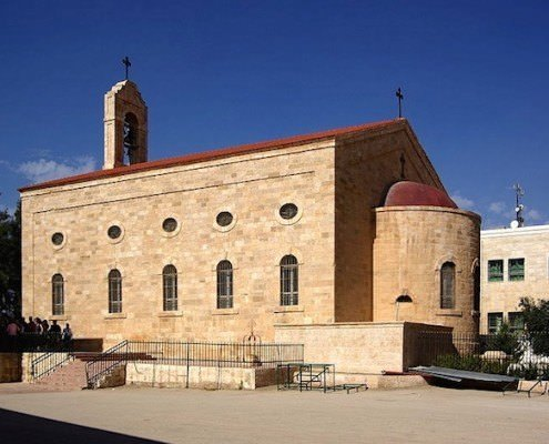 St. George Greek Orthodox Church in Madaba which contains the famous mosaic floor