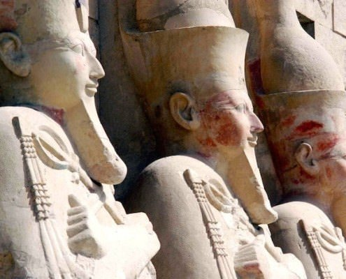 Statues of Queen Hatshepsut