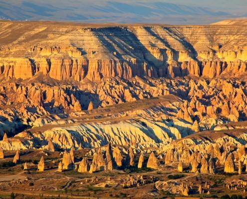 Sunset - Red Valley in Cappadocia, Turkey