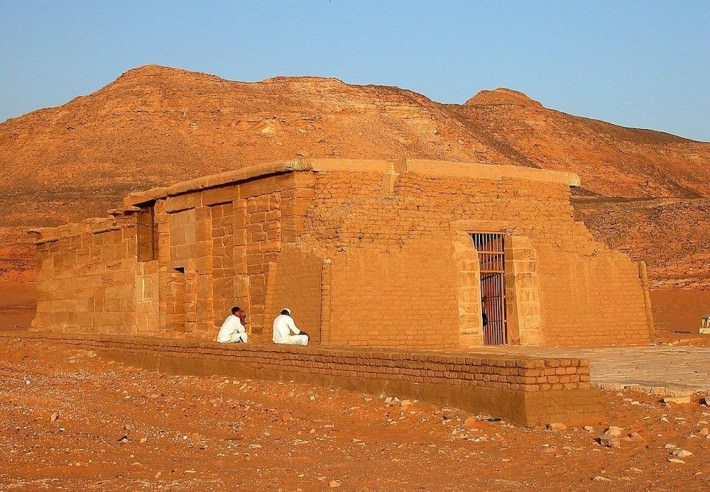 Amada Temple, Lake Nasser