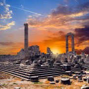 Temple of Apollo in Didyma at sunrise