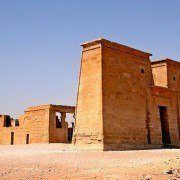 Temple of Dakka in Nubia, Upper Egypt