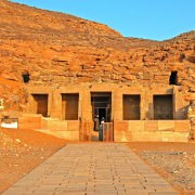 Temple of Derr, Lake Nasser