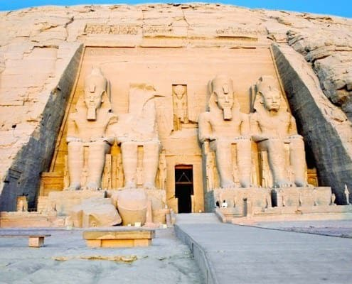 Temple of Ramses II (the large temple), Abu Simbel