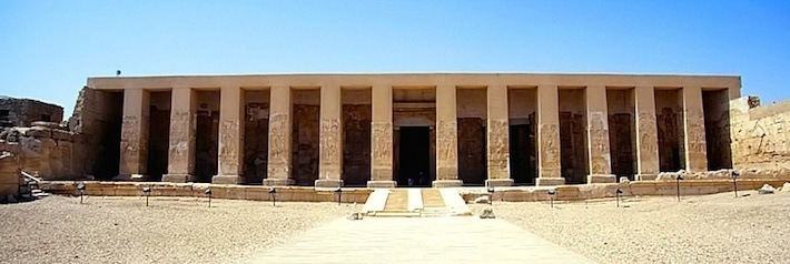 Temple of Seti I, Abydos - Photo by Roland Unger