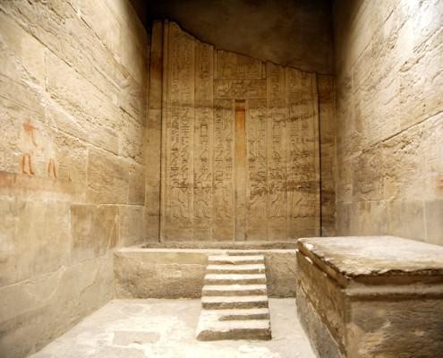 Temple room, Saqqara Necropolis
