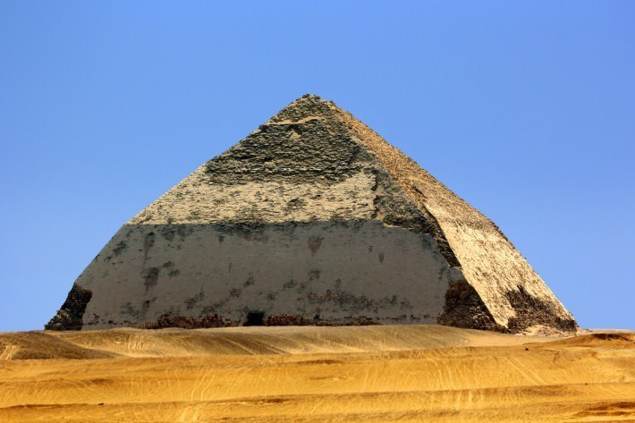 pyramid how to find angles