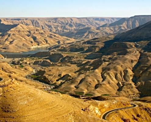 The Great Rift Valley - Jordan Valley