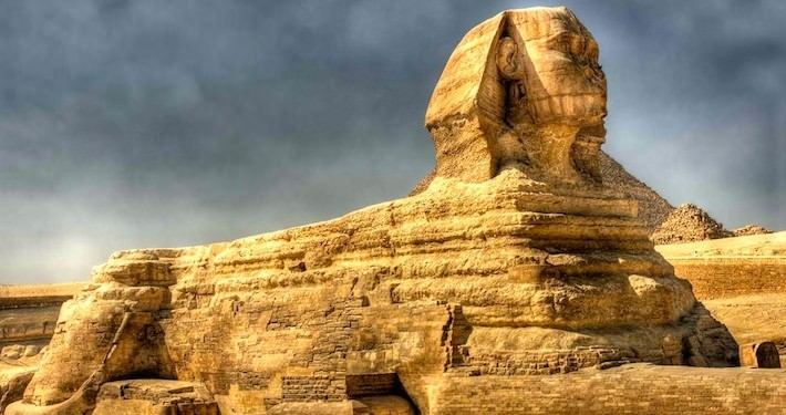 The Great Sphinx - One of the highlights of a Giza Pyramids Tour