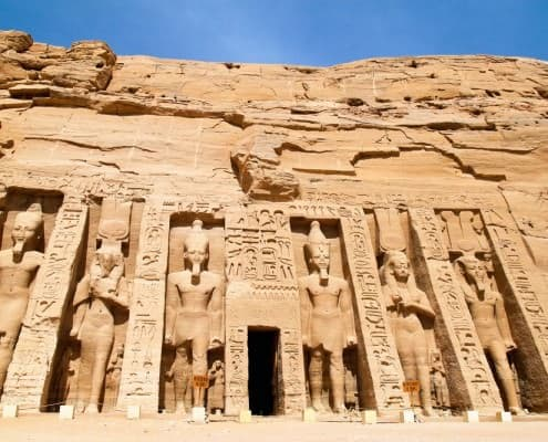 The Hathor Temple of Queen Nefertari (the small temple), Abu Simbel