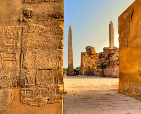 The Karnak Temple is one of the highlights on Luxor Tours