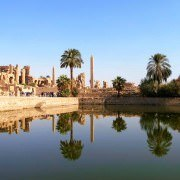 The Sacred Lake of Karnak Temple
