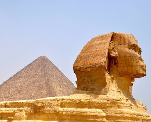 The Sphinx and Pyramids of Cairo are a must in any Egypt Vacation Tour Package
