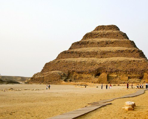 Step Pyramid of Pharaoh Djoser, Sakkara