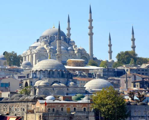 The Suleiman Mosque (Suleymaniye Camii)