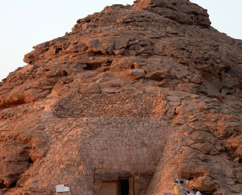 The Tomb of Penout, Lake Nasser - Photo by Dennis Jarvis