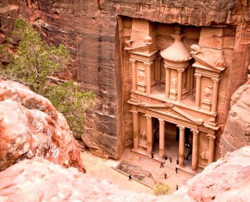 The Treasury, Rose City of Petra