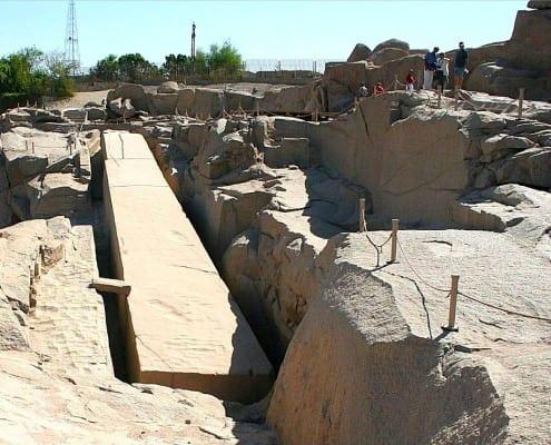 The Unfinished Obelisk at Aswan
