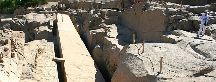 The Unfinished Obelisk at Aswan
