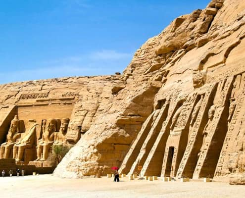 Temples of Abu Simbel, Lake Nasser