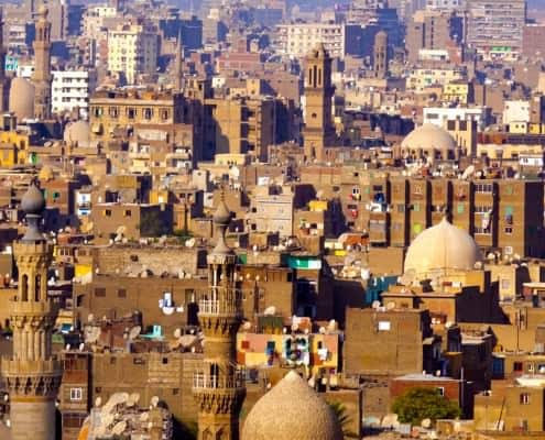 View of Cairo from the Cairo Citadel