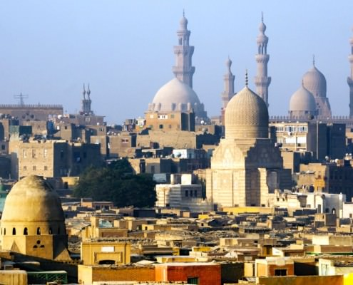 View of Islamic Cairo