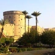Walls of the Cairo Citadel