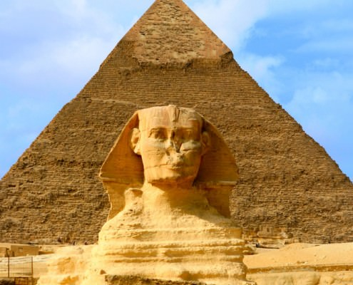 The Great Sphinx and Pyramid - Signature Tourist Attraction of Egypt