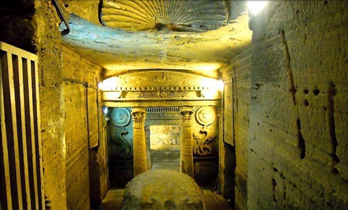 The Catacombs of Kom el Shoqafa