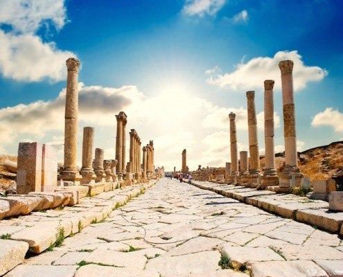 Ancient City Of Jerash