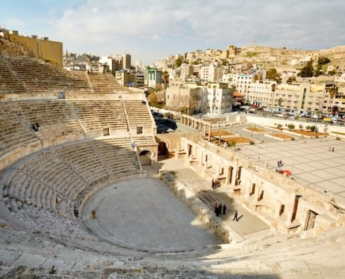 The Roman Theatre of Amman