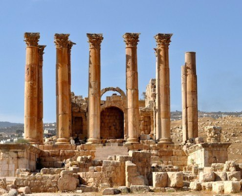 Artemis Temple in Jerash