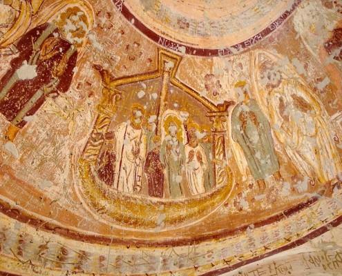 Coptic frescos, Chapel of Peace, Al Bagawa