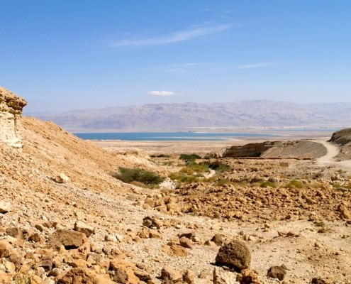 Dead Sea and Desert, Israel