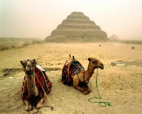 Djoser's Step Pyramid, Saqqara, Cairo