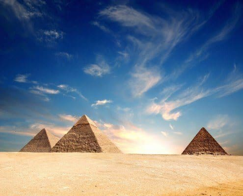 The Big 3 - the absolute top attraction in Egypt