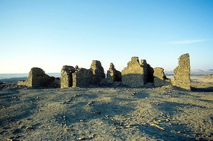 English House or House of the Englishman at the Black Mountain, el-Bawiti, Bahariya Oasis