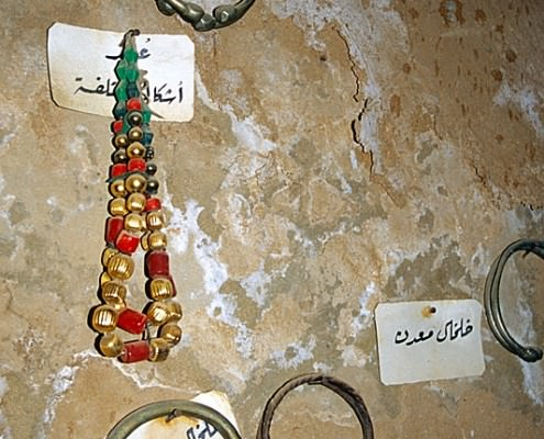 Jewelry in the Ethnographic Museum of Mut
