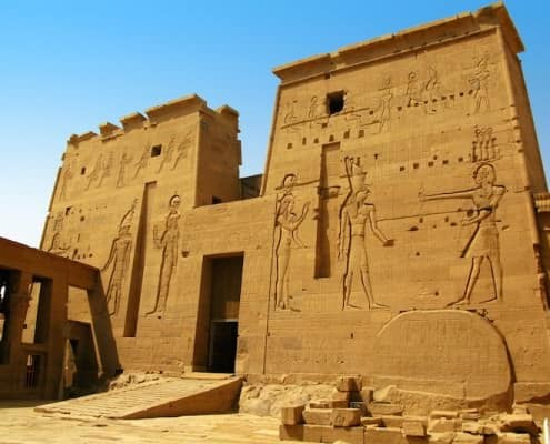 Places to visit in Egypt - First Pylon of the Temple of Isis