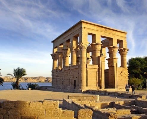 Attractions in Egypt - Kiosk of Trajan, Temple of Isis, Philae Island