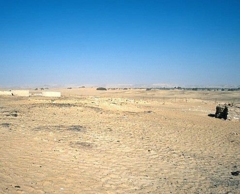 Landscape of the Valley of the Golden Mummie